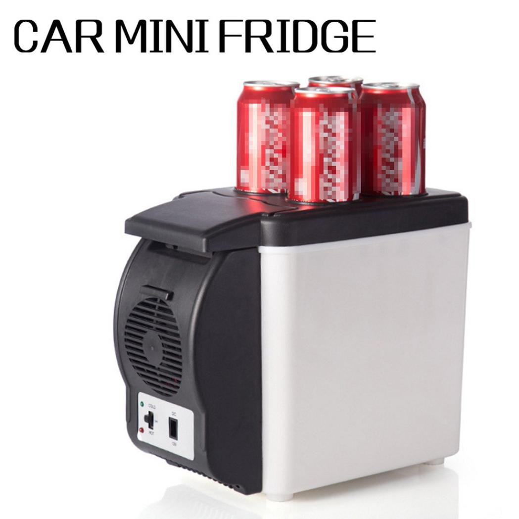 Jeeke Portable Small Refrigerator - Portable Ice Maker Machine for Counter Top - Electric Ice Making Machine