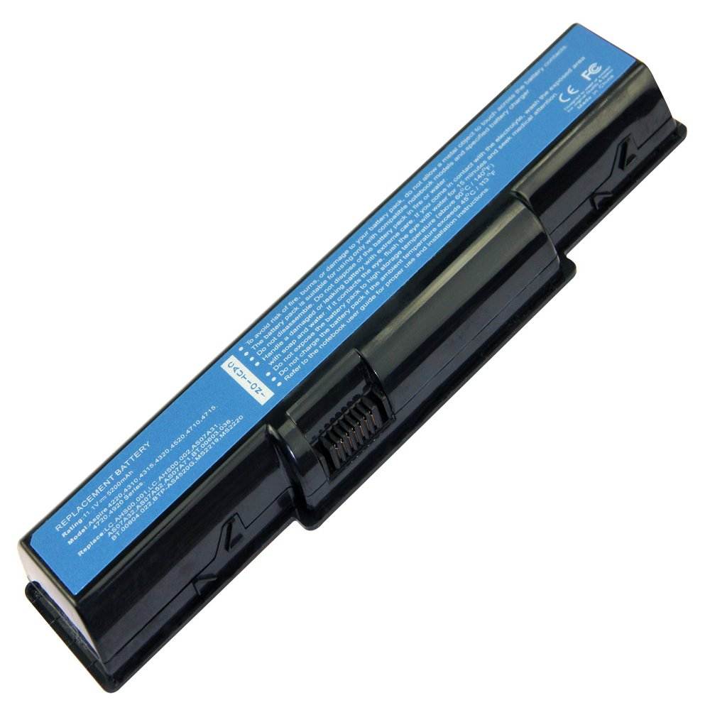Amazon.com: Acer AS07A41 Lithium-Ion Replacement Laptop Battery (4400 mAh):  Computers & Accessories