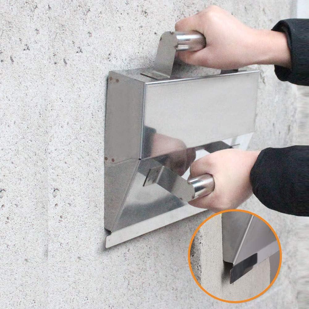 outils de d/écoration de truelle de pl/âtrage en acier inoxydable Carrelage de pl/âtre /à la main Acier inoxydable /épais de haute qualit/é Duret/é /élev/&eacu Truelle d/écr/émage de pl/âtrage