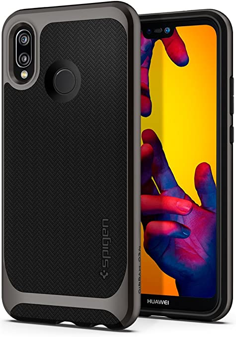 new products 48549 d1e09 Spigen [Neo Hybrid] [Gunmetal] Case for Huawei P20 LITE, Ultimate  Protection Air Cushion Technology Hybrid Design Double Protection Phone  Cover for ...