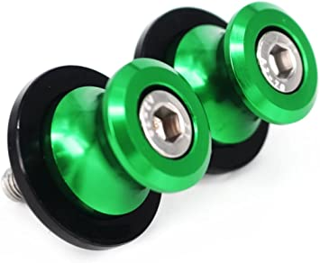 10mm Schwingenschutz Schwingenadapter Ständer Bobbins Spools Racingadapter Für Kawasaki Er 4n Er 6n Er 6f Kle650 Versys Auto