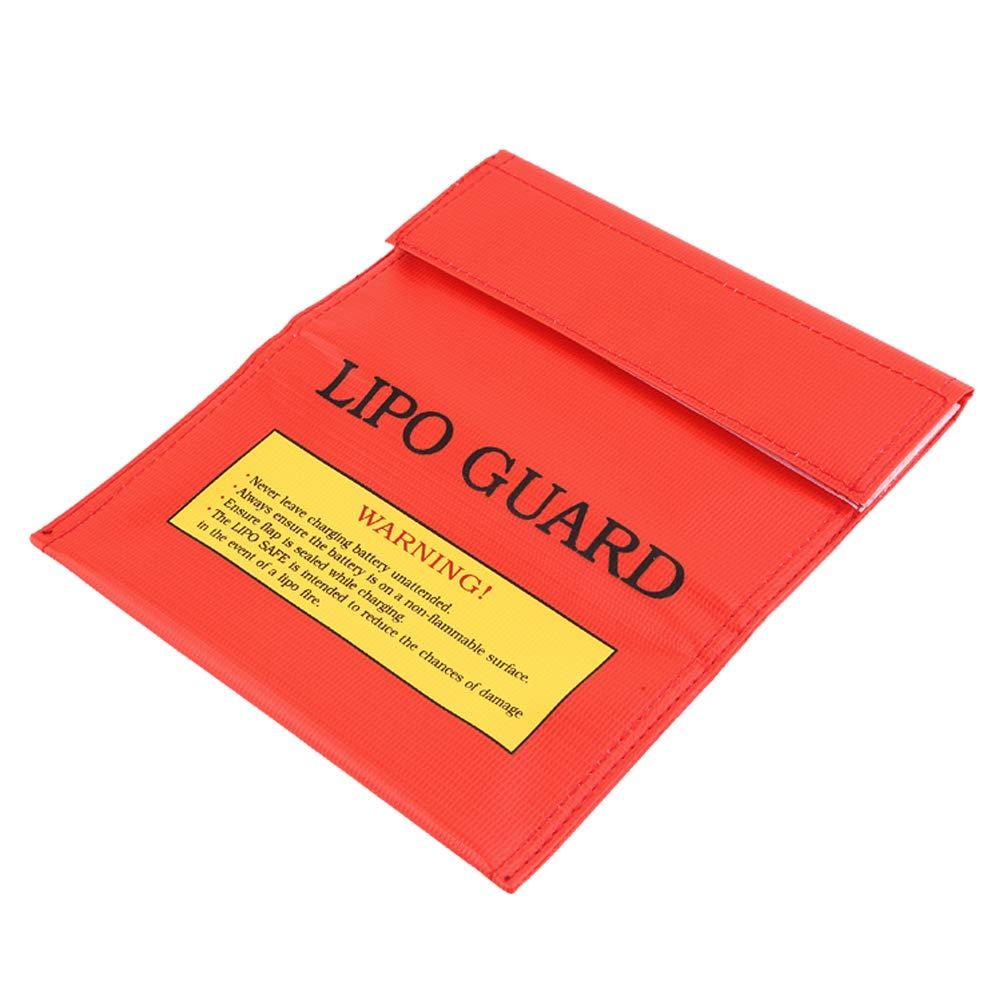 RC LiPo Li-Po Battery Fireproof Safety Guard Safe Bag Charging Sack YK