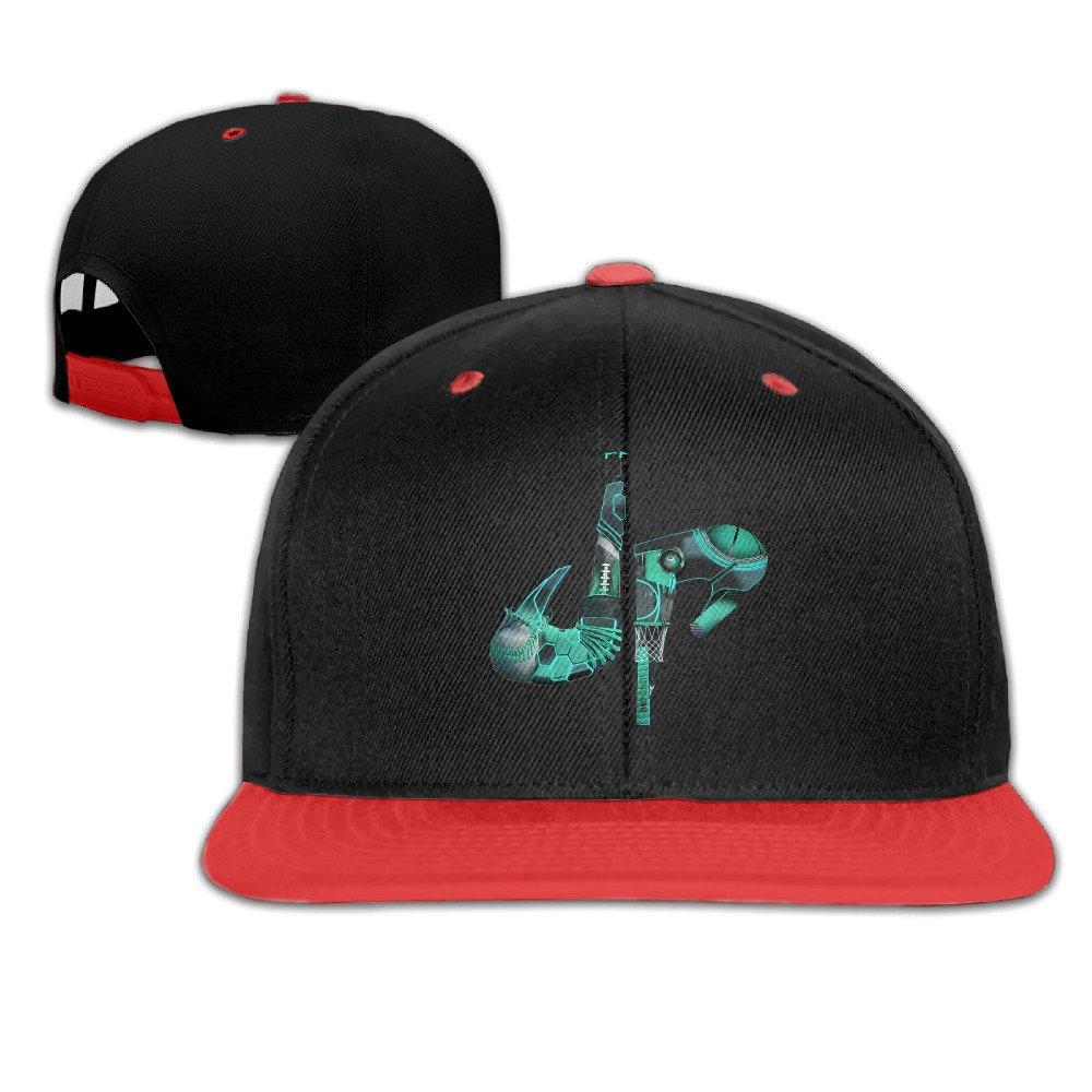 Kualday Kid's DP Dude Perfect Logo Plain Adjustable Snapback Hats Caps