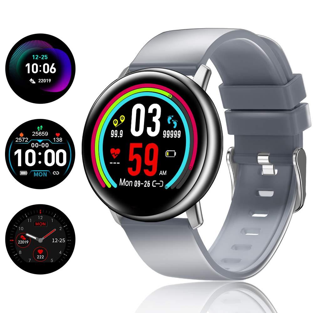 TagoBee TB15 Reloj Inteligente Ip67 Waterproof Smart Watch 1.22 IPS Color Screen Activity Watch Fitness Trackers con Monitor de sueño, podómetro, ...