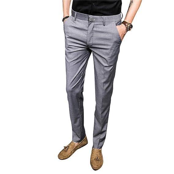MISSMAOM_Fashion2019 Stretch Slim Fit, Pantalones de Traje para ...