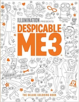 Amazon Com Despicable Me 3 The Deluxe Coloring Book 9781683830801