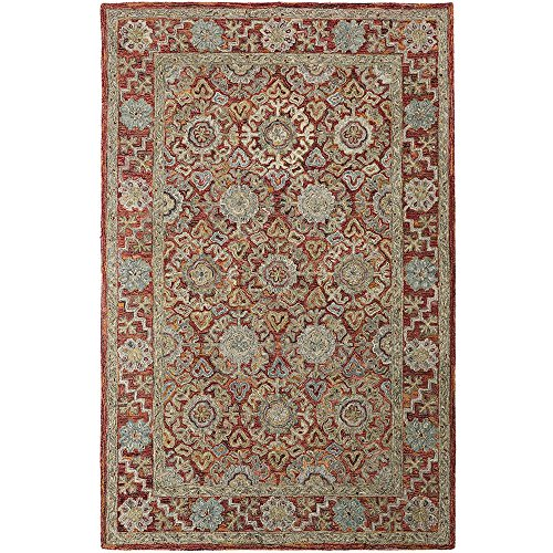 Home Decorators Collection Henri Brick 4 ft. x 6 ft. Area (Best Home Decorators Collection Area Rugs)