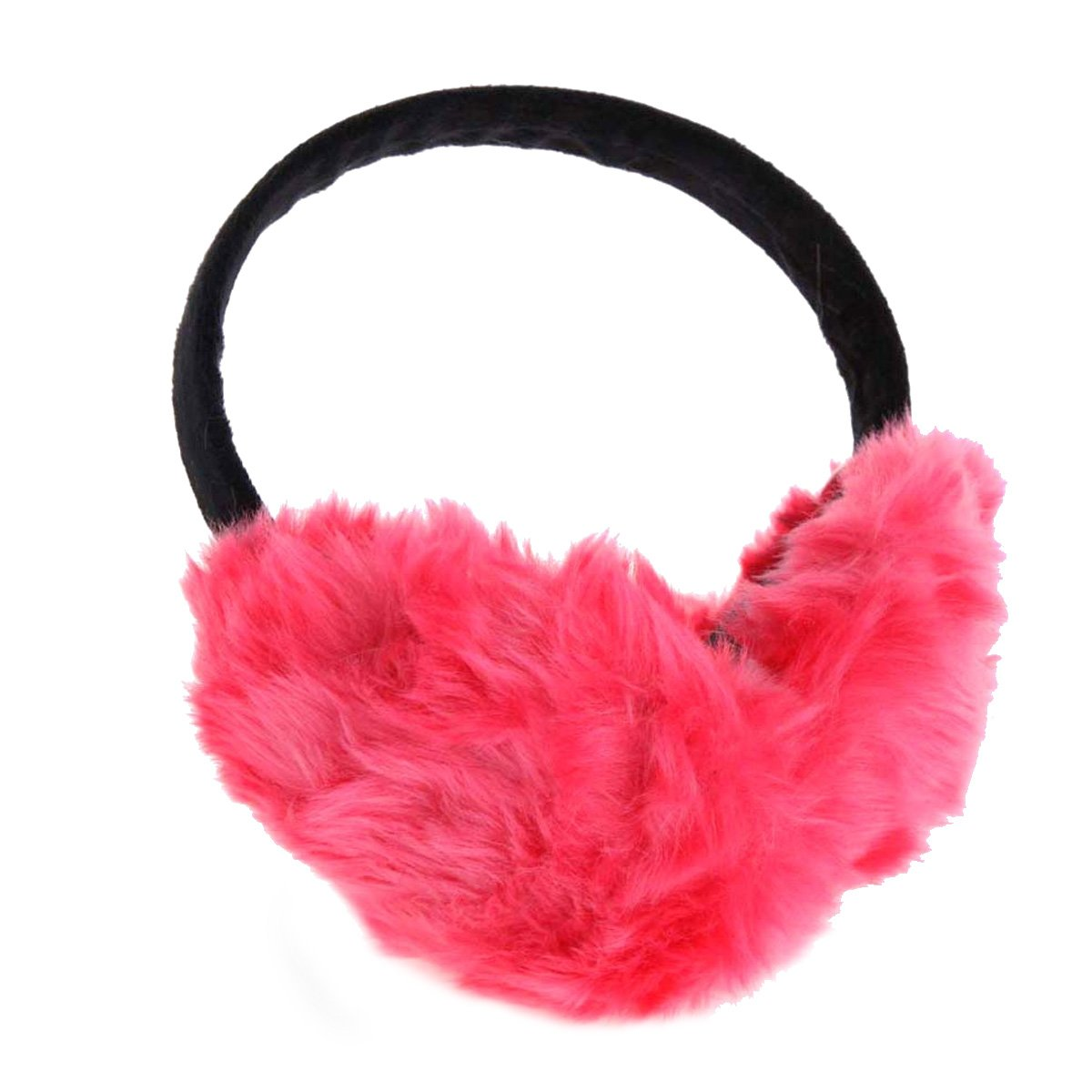 ChikaMika Winter Earmuffs for Women Girls Winter Ear muffs Large Over Ear Foldable EarMuff B20B01-Dark Gray