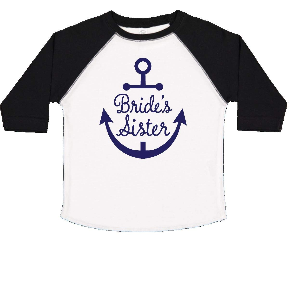 inktastic Brides Sister Nautical Anchor Toddler T-Shirt