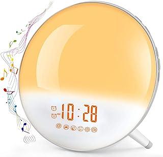 Uleader AM FM Pocket Digital Radio with Alarm Clock. 828 White