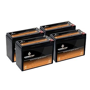 Amazon.com: 12 V 10,5 Ah Sla Batería para patinete eléctrico ...