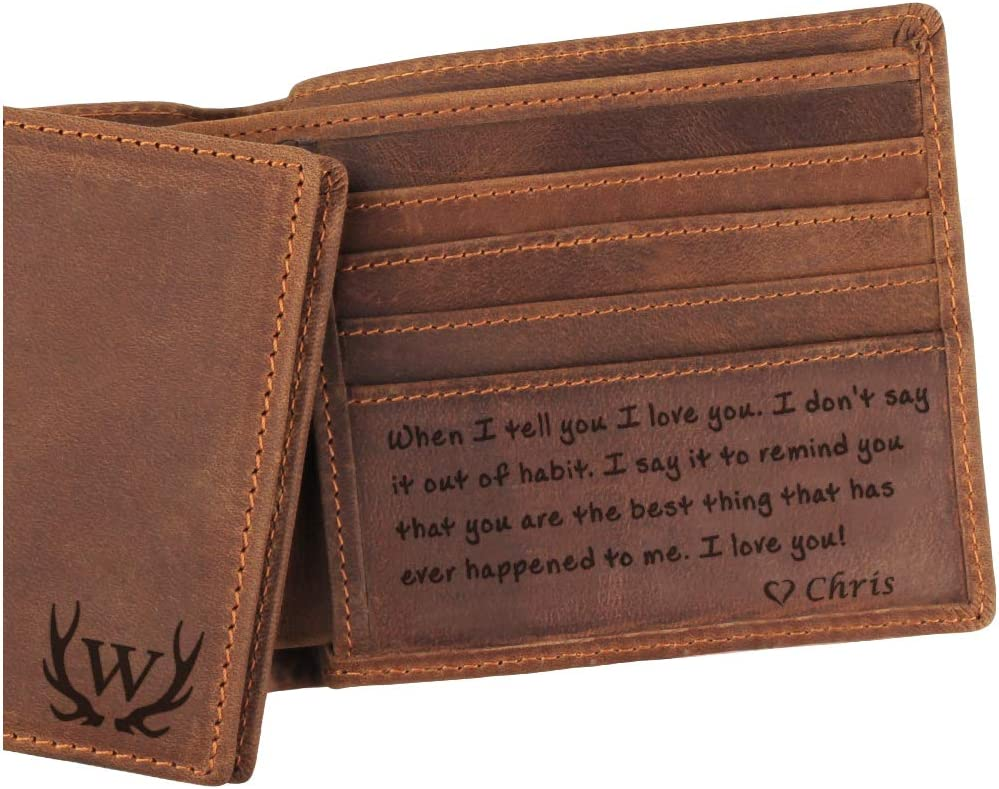 Groomsman Wallet Slim Wallet Leather Passport Wallet Anniversary Gift for Men Minimalist Card Wallet Leather Man Wallet Wallet for Man