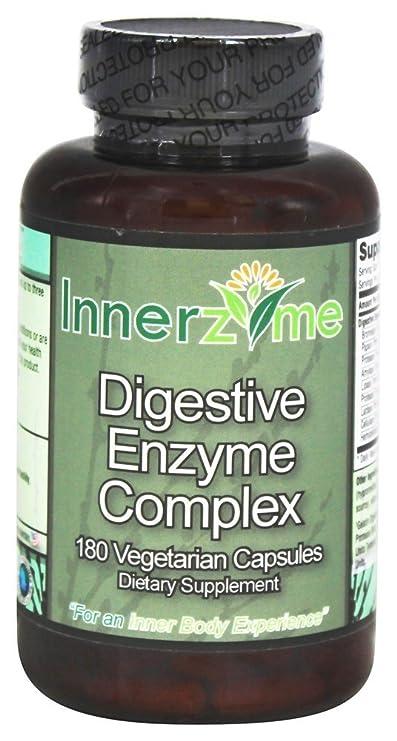 Innerzyme - complejo de enzimas digestivas - 180 cápsulas ...