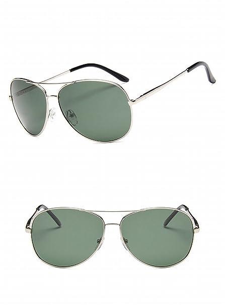 45180e758a gafas de Sol grandes del marco de Los Hombres Clásicos piernas del Resorte gafas  polarizadas gafas