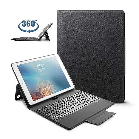 Teepao - Funda para iPad de 9,7 Pulgadas para Teclado de 2018, iPad