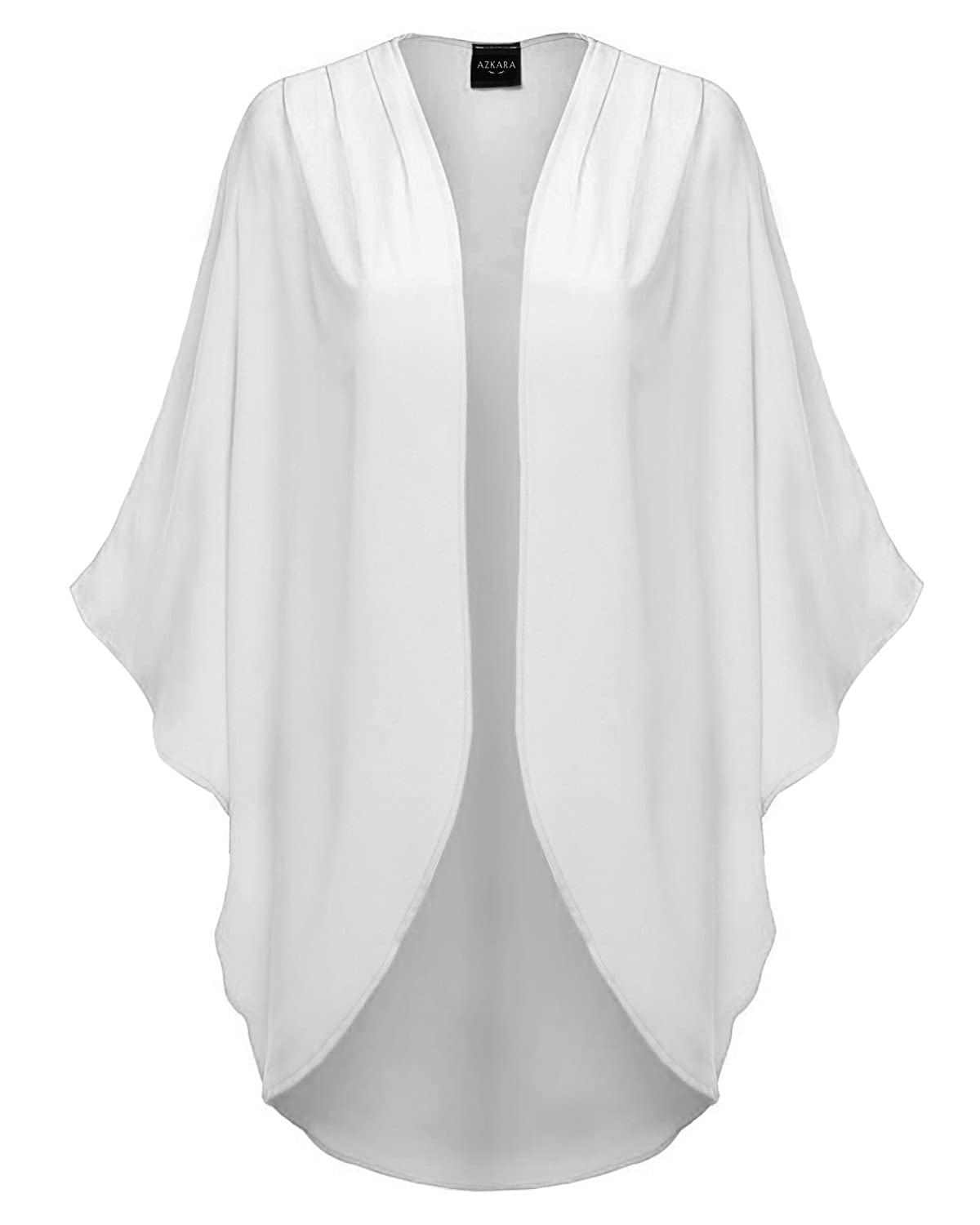 Made by Emma MBE Women's Short Sleeve Open-Front Kimono Style ...