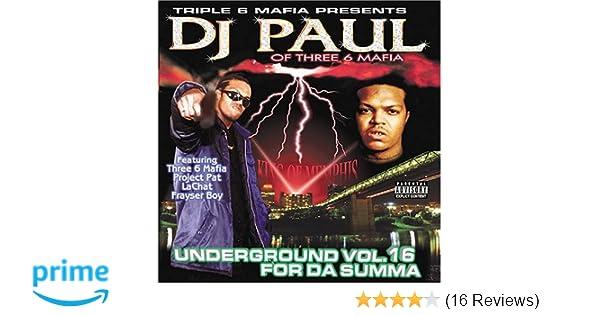 dj paul underground vol 17 for da summa zip