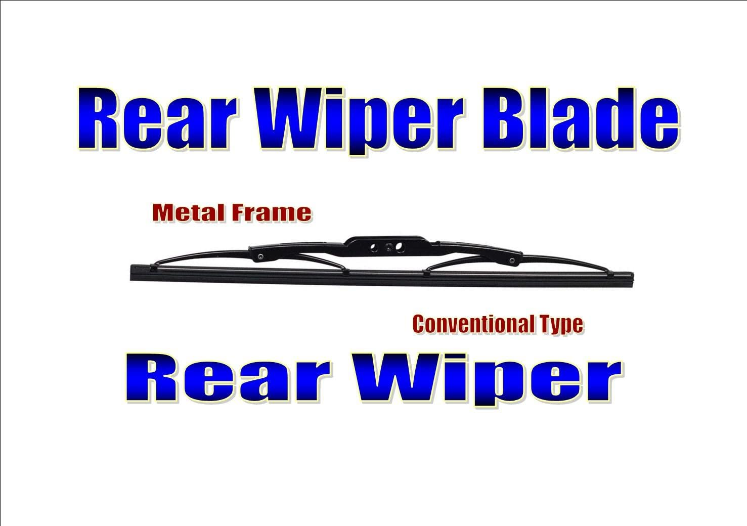 Grand Vitara Rear Wiper Blade Back Windscreen Wiper 1998-2005