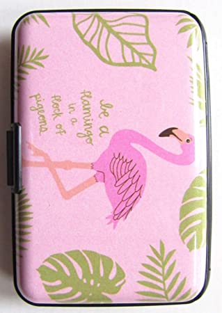 Flamingos in Pigeons - Funda protectora para tarjeta de ...