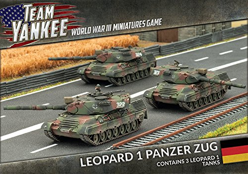 Team Yankee Leopard Panzer Zug product image
