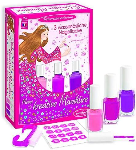 SentoSphere Unisex Spielzeug Pink Nagellack Wasserlöslich Maniküre