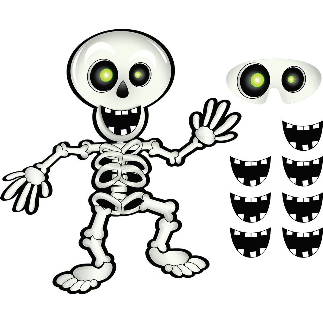 Amscan International 394842 Pin-The-Skeleton-Spiel Amscan International Ltd