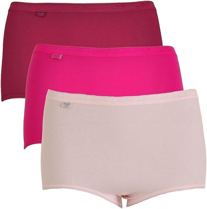 Pinks Sloggi Women Basic 3 Pack Maxi Brief