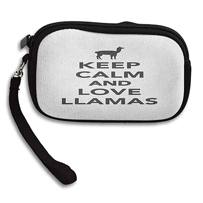 Amazon.com: Llama Best Wallet Alpacas in Love in the ...