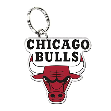 Wincraft NBA 21234041 Chicago Bulls acrílico llavero: Amazon ...