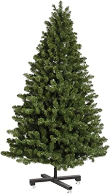 Amazon.com: Pencil Slim Christmas Tree 7ft Soft Feel Touch with Stay Lit Lights ... FAST ...