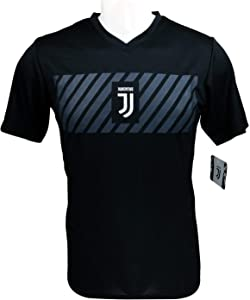 Icon Sports Men Compatible with Juventus Officially Poly Shirt Soccer Jersey -01
