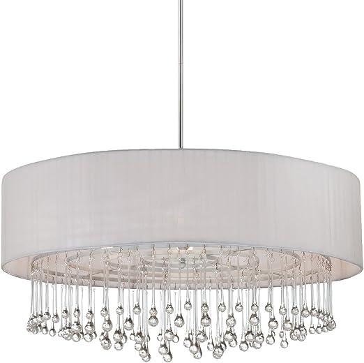 Aluminum Eurofase 25668 Venti 1-Light Pendant