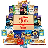 Yummy Snacks Care Package Includes Cookies, Candy & Bars Assortment (25 Count)