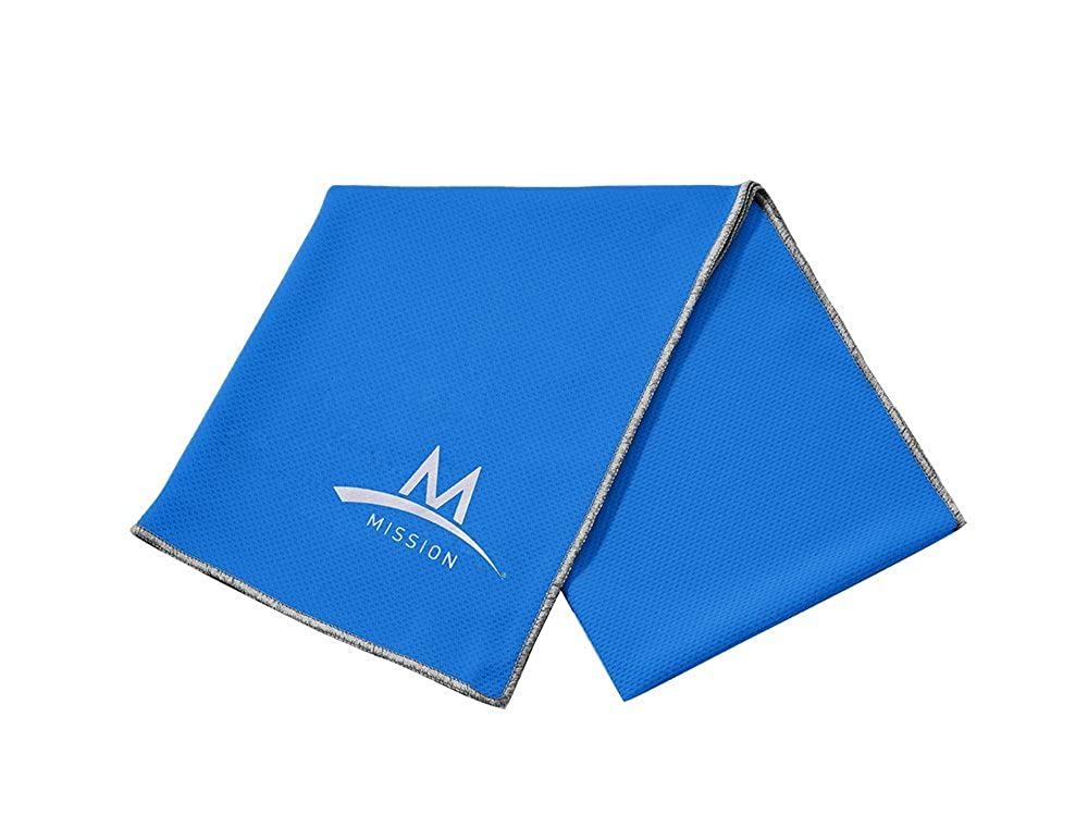 Mission Enduracool Techknit Cooling Towel, Blue, X-Large