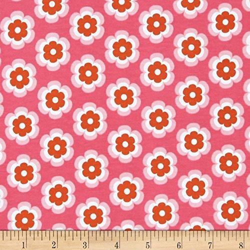 Riley Blake Vivid Jersey Knit Leilani Fuschia Fabric By The - Leilani Wholesale