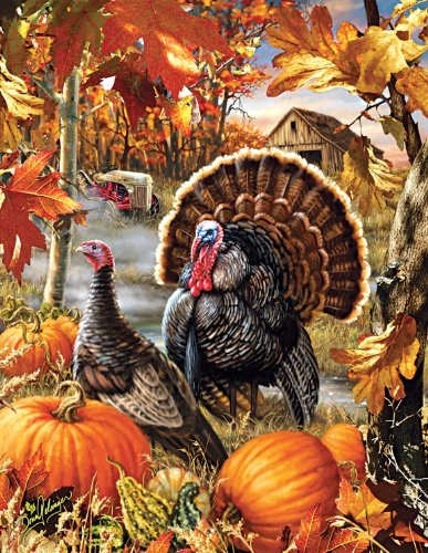 SunsOut Gobbler Farms 1000+ Piece Jigsaw Puzzle -