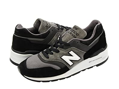 reputable site sneakers for cheap shoes for cheap Amazon   [ニューバランス] M997CUR BLACK/GREY 【MADE IN ...
