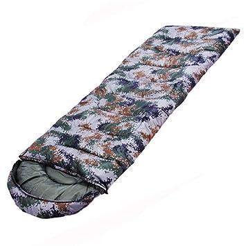 El Saco de Dormir de Camuflaje Impermeable al Aire Libre/Camping/Hotel a través de la Sucia Anti-Patada de 1 KG es de 220 + 75 cm: Amazon.es: Hogar