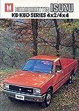 1983 Isuzu KB KBD 4x4 4x2 Pickup Brochure Belgium