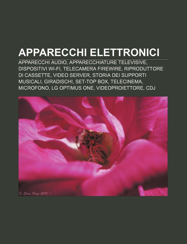 Apparecchi elettronici: Apparecchi audio, Apparecchiature televisive, Dispositivi Wi-Fi, Telecamera FireWire, Riproduttore di cassette: Amazon.es: Fonte: ...
