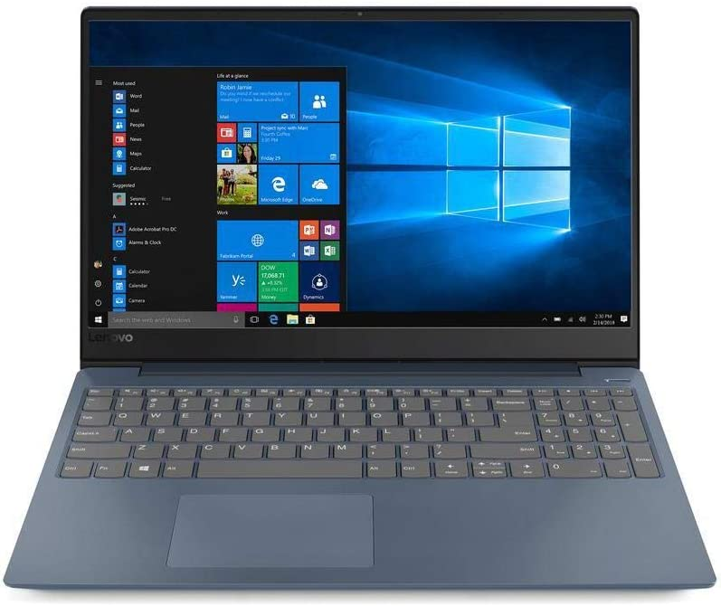 2020 Premium Flagship Lenovo 330 15.6 Inch HD Laptop (Intel i5-8250U, 1.6GHz up to 3.4GHz, 8GB DDR4 RAM, 128GB SSD, Intel HD Graphics 620, WiFi, Bluetooth, HDMI, Dolby Audio, Windows 10)
