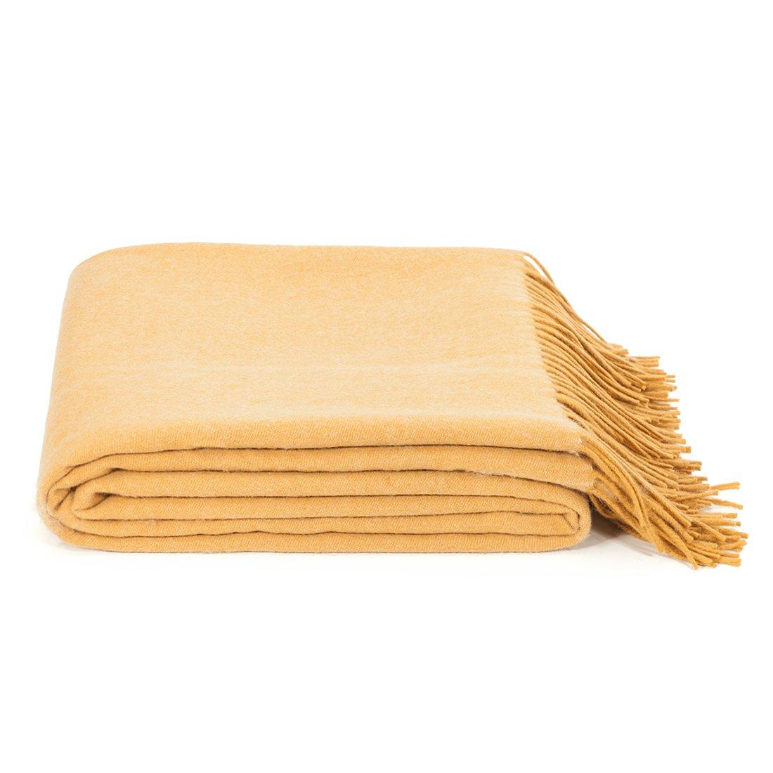 spencer & whitney Wool Blanket Throw Australian Wool Soft Light Blanket Four Season Use Wool Blanket 100 Wool Light And Breathability
