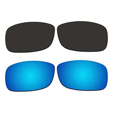 c05c72f6d4 Amazon.com  2 Pair COODY Replacement Polarized Lenses for Ray-Ban RB4075  61mm Sunglasses Pack P4  Sports   Outdoors