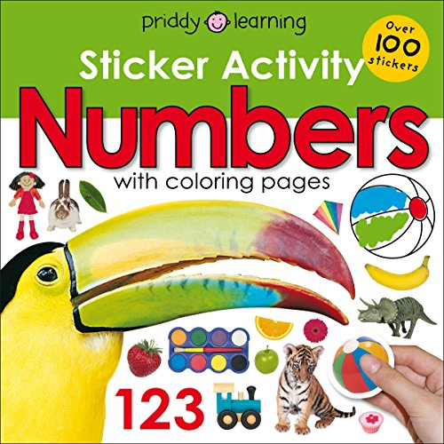 Sticker Activity Numbers (Sticker Activity Fun)