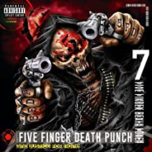 US direct And Justice For None Deluxe Edition Limited Edition Music Audio CD by Five Finger Death Punch