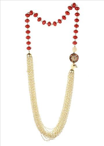 Cristal Exotic Zephyrr Perles India Collier De Fashion vmnPNwOy80