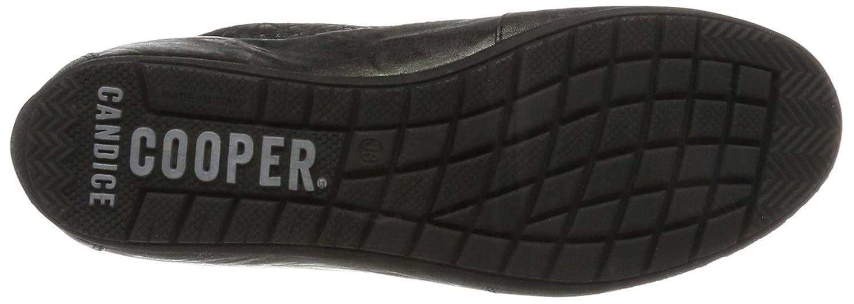 Candice Cooper Schwarz Damen Caripoff Hohe Sneaker Schwarz Cooper (Nero) 6dc11d