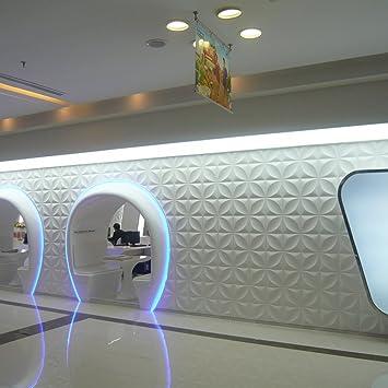 Yazi Wandfliesen Mit 3D Effekt, Aufgearbeitete Relieftapete, Fu0026uuml;r  Wohnzimmer Oder Geschu0026auml