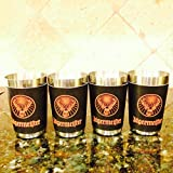 Jagermeister Stainless Steel Shot Glasses (Set of 4)