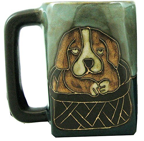 Mara Stoneware Mug - Playful Puppies 12 oz. ()